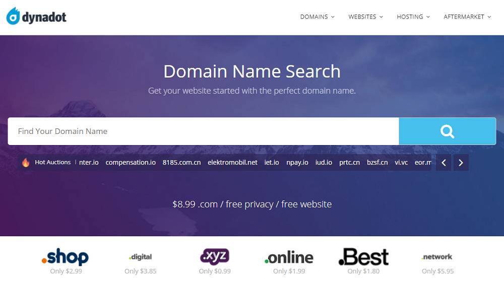register the perfect Domain name