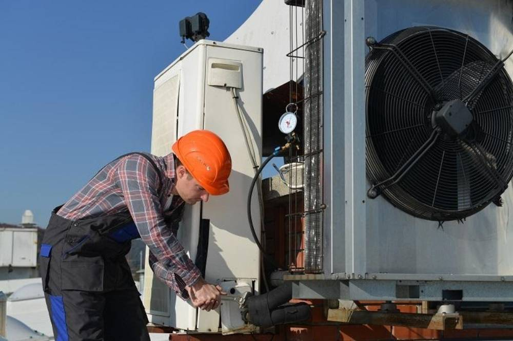 Different Types Of Heating Cooling Service System